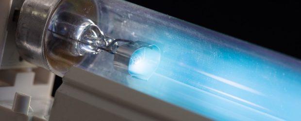 Lampada UVC a forma di tubo